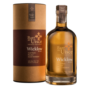 Barr An Uisce Whiskey Wicklow Blended Small Batch Irish 86Pf 750Ml