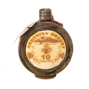 Ijevan Wooden Barrel Brandy Armenia 10Yr 750Ml
