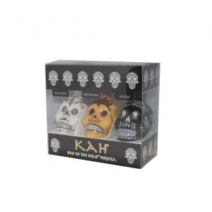 Kah Day Of The Dead Tequila ( Blanco, Repo, Anejo) 3X50Ml