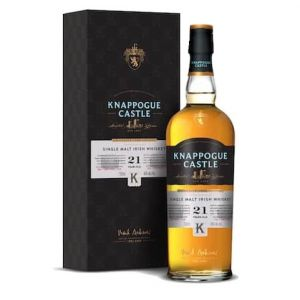 Knappogue Castle Single Malt Whiskey Irish 92Pf 21Yr 750Ml