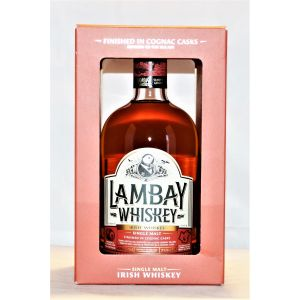Lambay Whiskey Single Malt Irish In Cognac Cask 750Ml