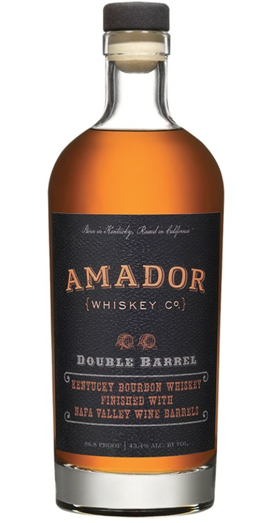 Amador Bourbon Double Barrel Napa Wine Barrel Kentucky 86.8Pf 750Ml