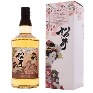 The Matsui Whisky Single Malt Sakura Cask Japan 750Ml - liquorverse
