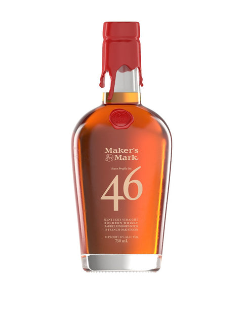 Makers Mark 46 Bourbon Whisky Barrel Finished W/Oak Staves 94Pf 750Ml