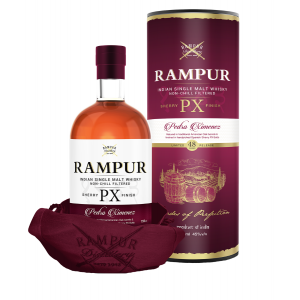 Rampur Whiskey Single Malt Sherry Px Finish Limited 48 Cask Release India 750Ml - liquorverse