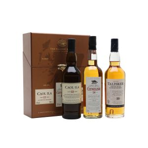 The Classic Malts Collection Scotches Single Malt ( Caol Ila 12/ Clynelish 14 Talisker 10 ) 3X200Ml - liquorverse