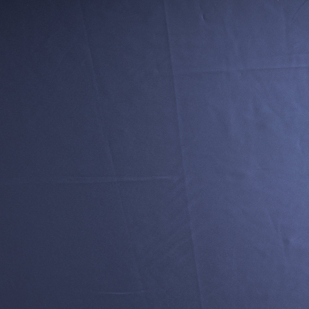 MADISON NAVY | 3404-BLUE - DULL STRETCH SATIN - Zelouf Fabrics
