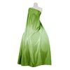 COOL LIME | 2032 - Ombre P/Prt On Crepe Back Satin - Zelouf Fabrics