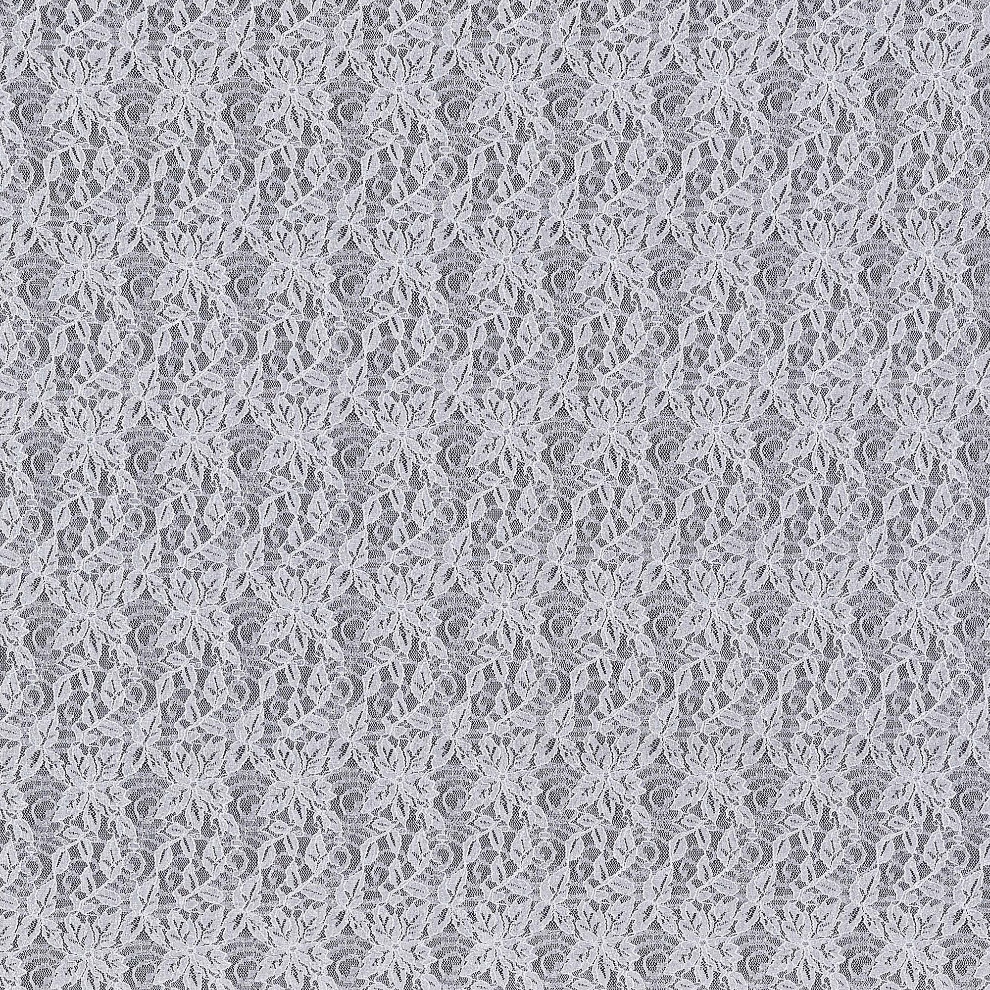 SILVER DOVE | 20809-ROLLERGLT-SILVER - CORD VENICE STRETCH LACE WITH ROLLER GLITTER - Zelouf Fabric