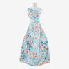 AQUA MULTI | 24649-3333DP - PLAYFUL OUTLINE FLORAL HMC - Zelouf Fabric