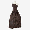 BROWN/BLACK | 25769-5670 - MIXED ANIMAL SCUBA CREPE JACQUARD - Zelouf Fabrics