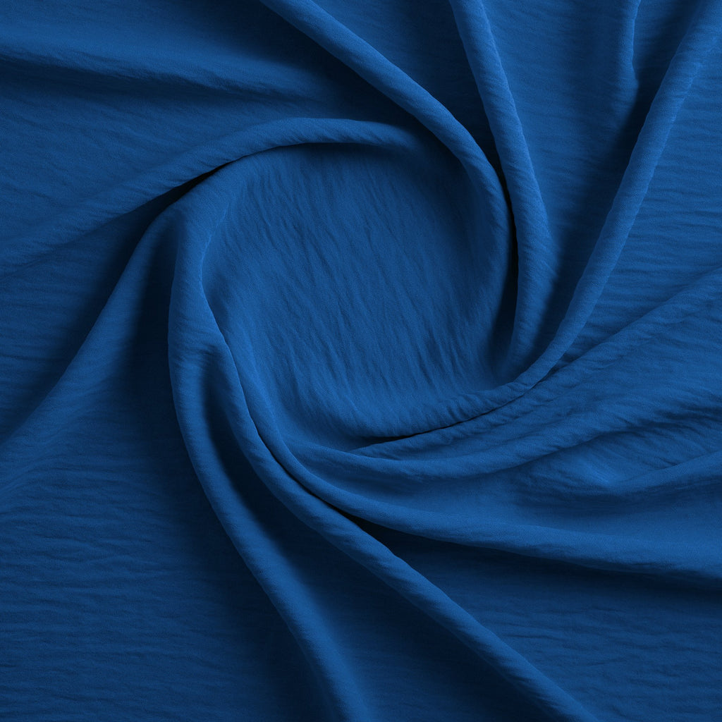 COBALT | 3460-BLUE - WASHER POLY - Zelouf Fabrics