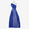 ALL ROYAL | 8266-TRAN-BLUE - TONAL STRETCH DOUGHNUT TRANS LACE - Zelouf Fabric