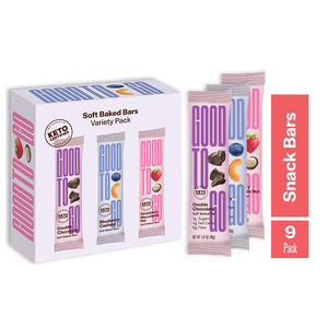New Variety Pack Snack Bars  (9 Pack)