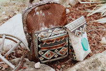Load image into Gallery viewer, Turquoise Brown Native American Classic Backpack