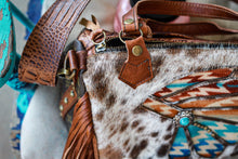 Load image into Gallery viewer, Headless with Pendleton Authentic LV Side Merle Medicine Bag