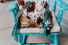 Load image into Gallery viewer, Brown Speckled with Tan Turquoise Longhorn Dolly