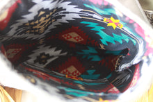 Load image into Gallery viewer, Headress with Pendleton Inlay Dark Feather Dutton