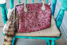 Load image into Gallery viewer, Pink Headless with Pendleton Authentic LV Side Merle Medicine Bag