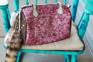 Pink Headless with Pendleton Authentic LV Side Merle Medicine Bag