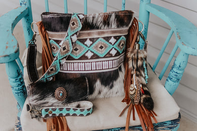 Turquoise Cocoa Navajo Tri-Color Dolly