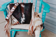 Load image into Gallery viewer, Crest Pendleton with Speckled Cowhide/ Tan Laredo Dolly