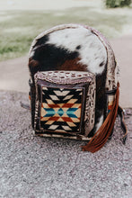 Load image into Gallery viewer, Black and Tan Pendleton Classic Backpack