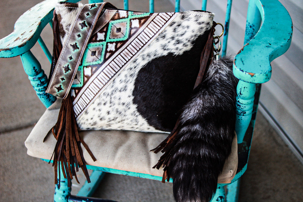Turquoise Cocoa Navajo and Speckled Patsy