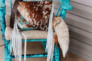 Pendleton with Speckled Cowhide Reba