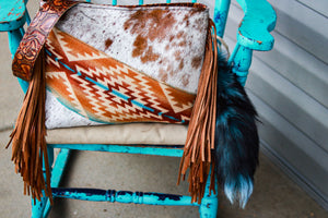 Pendleton with Speckled Cowhide Dutton