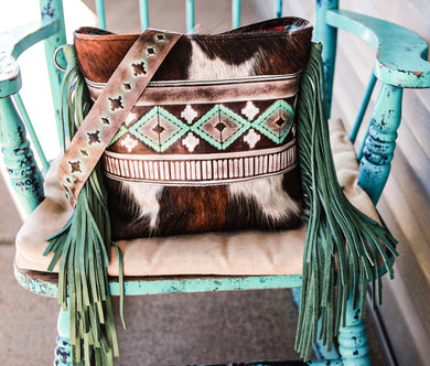 Turquoise Cocoa Navajo and Tri-Color Dolly