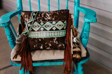 Load image into Gallery viewer, Turquoise Brown Native American Speckled Dolly