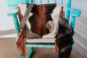 Turquoise Indios Cowboy Tool with Headress Patsy