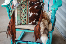 Load image into Gallery viewer, Turquoise Brown Navajo Tri-Color Dolly