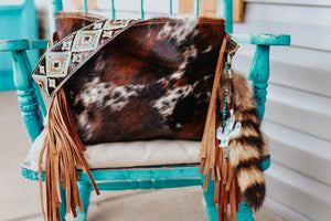 Speckled Tri Color Turquoise Brown Navajo Dutton