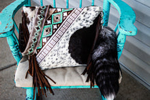Load image into Gallery viewer, Turquoise Cocoa Navajo and Speckled Patsy