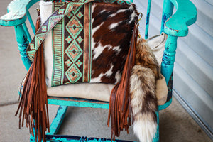 Turquoise Brown Navajo Tri-Color Dolly