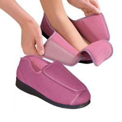 Womens Extra Wide Slippers