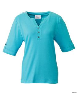 Women's Adaptive Top - Beautiful Detail Cuff Sleeve