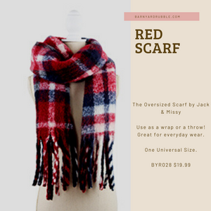 The Oversized Scarf by Jack & Missy