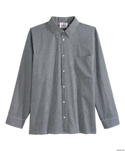 Men's Dress Shirt , Long Sleeve- Magnetic Buttons