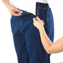 Load image into Gallery viewer, Side Zipper Soft Jean Pants - Women's