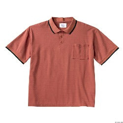 Men's Polo, Short Sleeve Top - Open Back