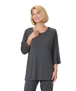Women's Top with Snaps