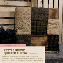 Load image into Gallery viewer, Kettle Grove Quilted Throw 60x50