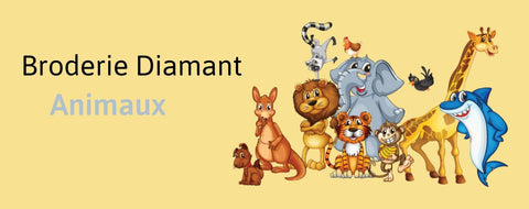 Broderie Diamant Animaux