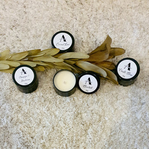 Soy tin/travel candle - Ash Creative