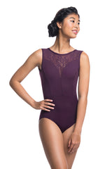 Bianca Leotard with Kara Lace