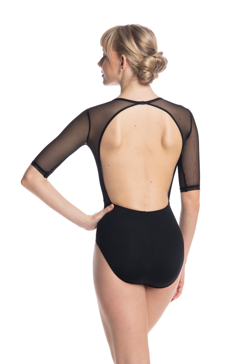 Freya Leotard with Mesh (1096ME)