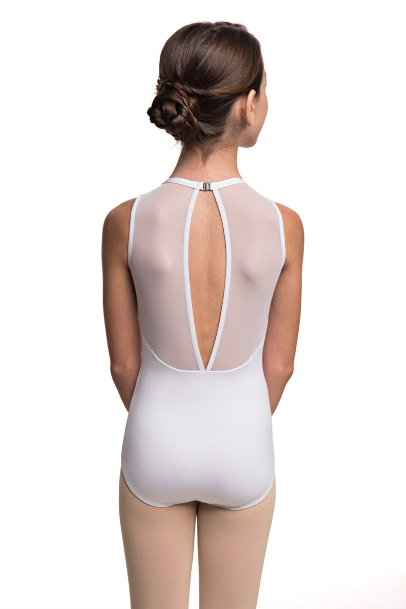 Girls Coco Leotard with Kara Lace